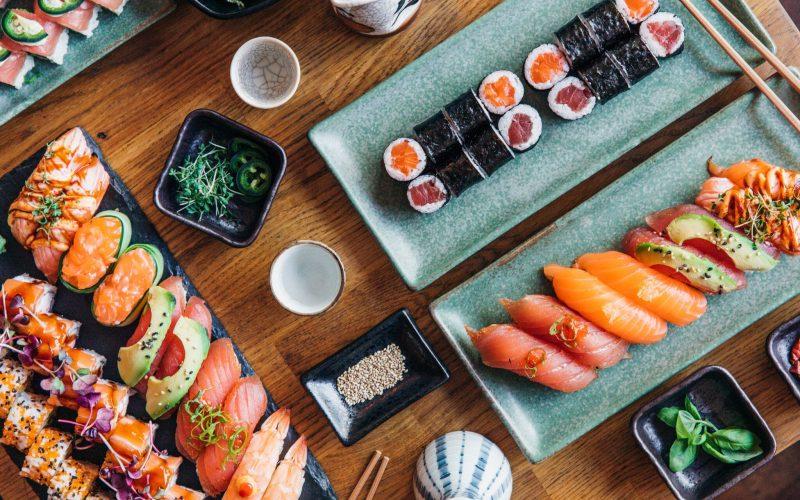Sushi udvalg